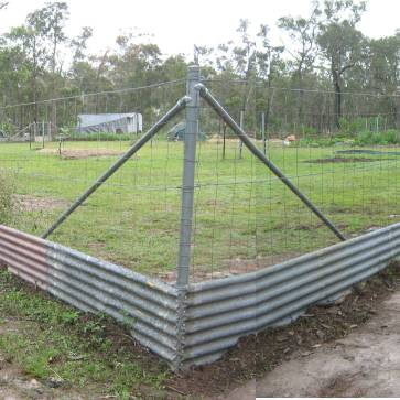 100% Fence Done - Critter Proof