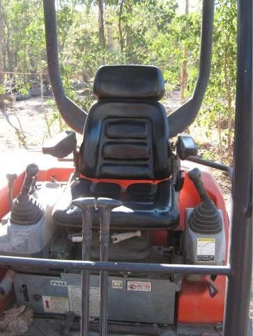 Excavator's Driver Seat