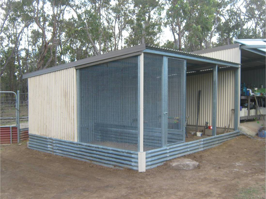 The new breeding pens